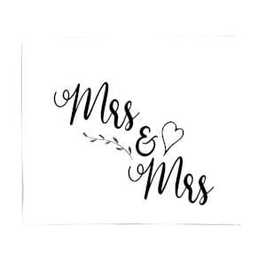 Mrs & Mrs Fleece Blanket