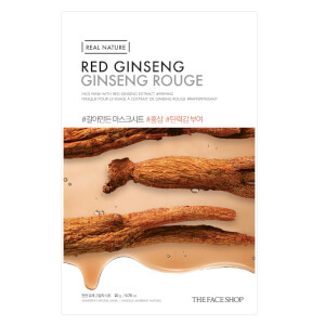 THE FACE SHOP Real Nature Sheet Mask Red Ginseng