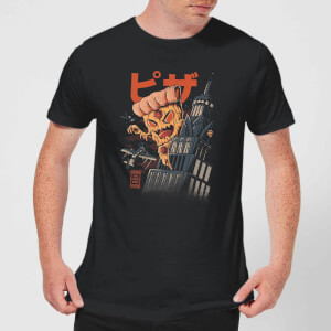 Ilustrata Pizza Kong Men's T-Shirt - Black