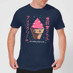 Ilustrata Ice Cream Lovers Club Men's T-Shirt - Navy