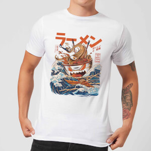 Ilustrata The Great Ramen Off Men's T-Shirt - White