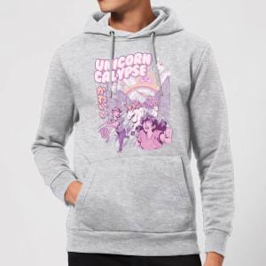 Ilustrata Unicorn Apocolypse Hoodie - Grey