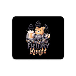 Ilustrata Friday Knight Mouse Mat