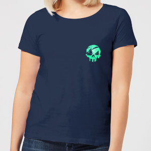 Sea Of Thieves 2nd Anniversary Pocket Women's T-Shirt - Navy