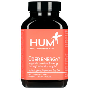 HUM Nutrition Uber Energy Adrenal Fatigue and Adaptogen Supplement (60 Vegetarian Capsules, 30 Days)
