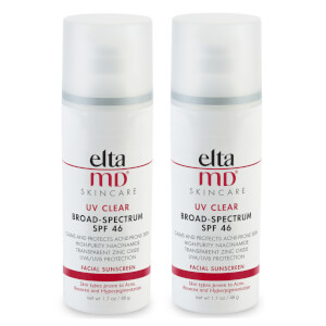 EltaMD UV Clear SPF46 Broad-Spectrum Duo (Worth $72)