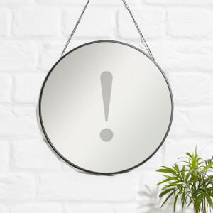 ! Engraved Mirror