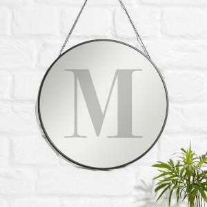 M Engraved Mirror