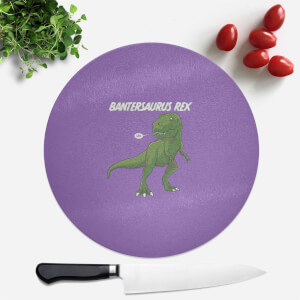 Bantersaurus Round Chopping Board