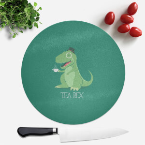 TeaRex Round Chopping Board