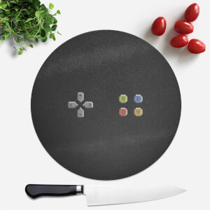 Pad Gaming Round Chopping Board