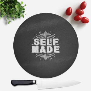 Self Made Round Chopping Board