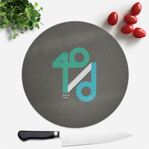 40 / D Match Point Round Chopping Board