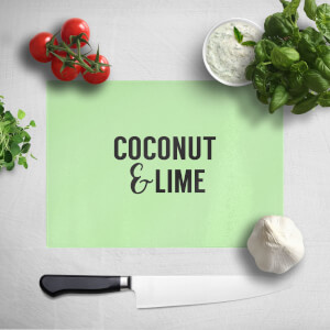 Coconut And Lime Chopping Board
