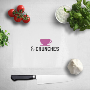 Coffee And Crunches Chopping Board