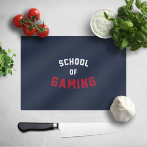 School Of Gaming Chopping Board