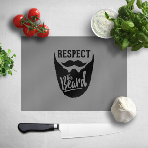 Respect The Beard Chopping Board