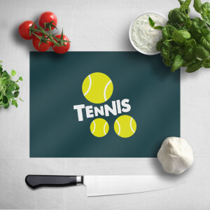 Tennis Balls Chopping Board
