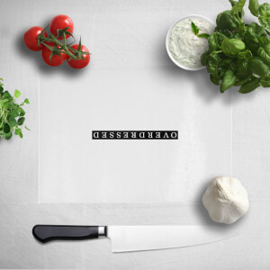 Overdressed Black Chopping Board