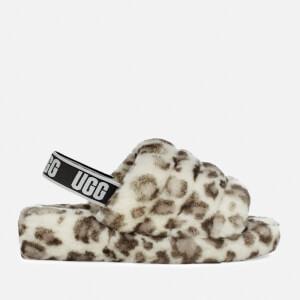 UGG Women's Fluff Yeah Slippers - White