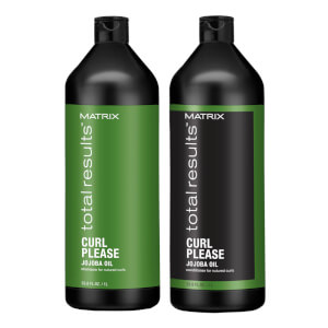 Matrix Total Results Curl Please Shampoo and Conditioner Bundle 2 x 1000ml