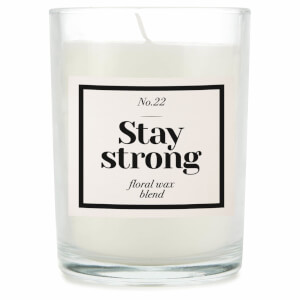 Stay Strong Candle