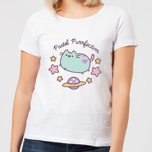 Pusheen Pastel Purrfection Women's T-Shirt - White