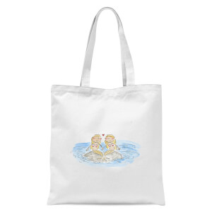 Mermaids Tote Bag - White