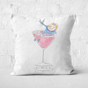 Join Me In A Cosmopolitan? Square Cushion