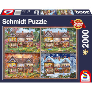 House of Four Seasons Puzzle (2000 Pieces)