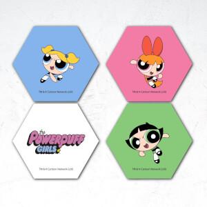 The Powerpuff Girls Hexagon Coaster Set
