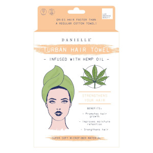 Danielle Creations Hemp Oil Infused Hair Turban