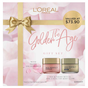 L'Oréal Paris Age Perfect Golden Age Day and Night Cream Gift Set (Worth $74.00)