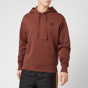Acne Studios Men's Ferris Face Hoodie - Dark Brown