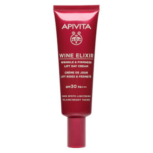 APIVITA Wine Elixir Wrinkle and Firmness Lift Day Cream Dark Spots Lightening SPF30 40ml
