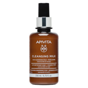APIVITA Cleansing Milk 3 In 1 Cleansing Milk for Face and Eyes 50ml