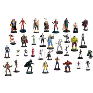 Eaglemoss Marvel Ultimate Collector's Set of 10 Figures (Set 2) - with 16-page Magazine