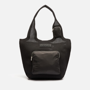KENZO Women's Recycled Flyknit Small Tote Bag - Black