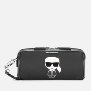 Karl Lagerfeld Women's K/Ikonik Nylon Barrel - Black