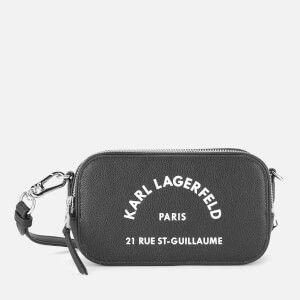 Karl Lagerfeld Women's Rue ST Guillaume Camera Bag - Black