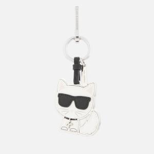 Karl Lagerfeld Women's K/Ikonik Choupette Keychain - Black/White