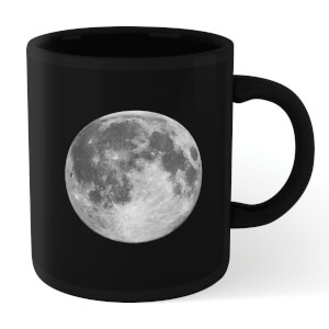 The Motivated Type Full Moon Mug - Black