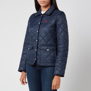 Polo Ralph Lauren Women's Logo Quilt Padded Jacket - Aviator Navy