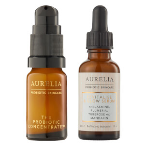 Aurelia Probiotic Skincare Revitalise and Glow Bundle