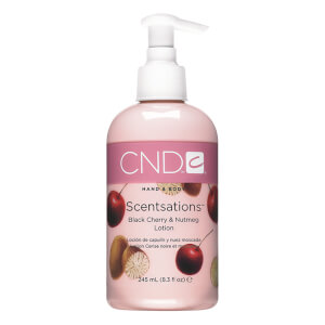 CND Scentsations Black Cherry & Nutmeg Hand Lotion 245ml