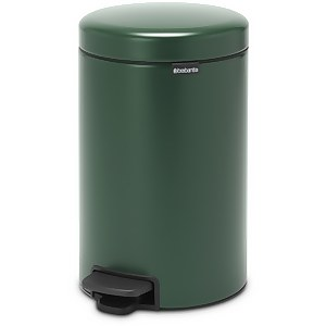 Brabantia New Icon 12 Litre Pedal Bin - Pine Green