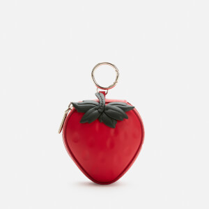 Kate Spade New York Women's Strawberry Coin Purse - Cherry Pie