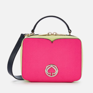 Kate Spade New York Women's Vanity Mini Top Handle Bag - Shocking Magenta Multi