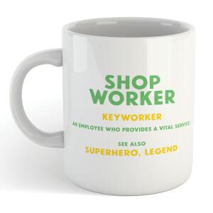 Shop Worker Mug
