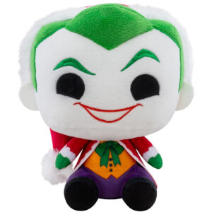 DC Holiday Santa Joker Funko Plush